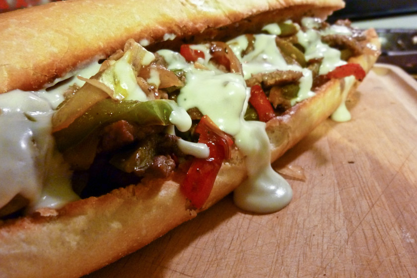 Gorgonzola Cheesesteak